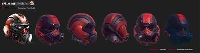 Le nouveau casque de la République Terran finalisé