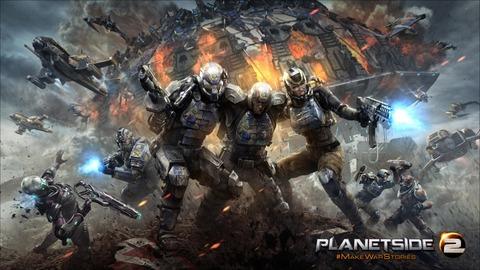 PlanetSide 2 - PlanetSide 2 en bêta sur PlayStation 4 à partir du 20 janvier