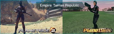 Avant / après - République Terran