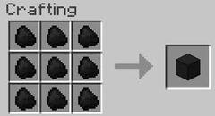 Bloc de charbon