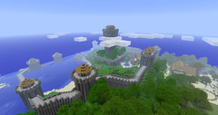 Minecraft Chateau 3