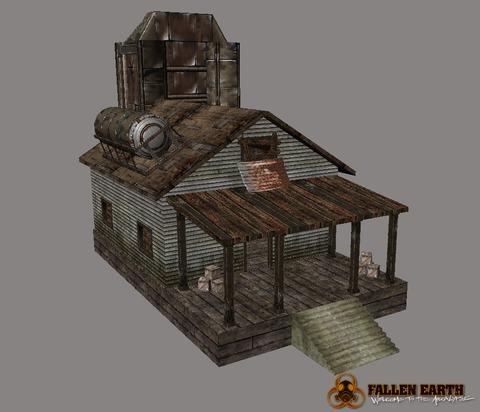 Fallen Earth - Les « avant-postes de joueurs » de Fallen Earth en test d'ici avril