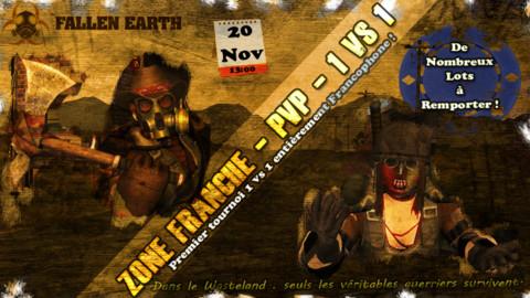 Fallen Earth - La communauté francophone organise un tournoi PvP sur Fallen Earth