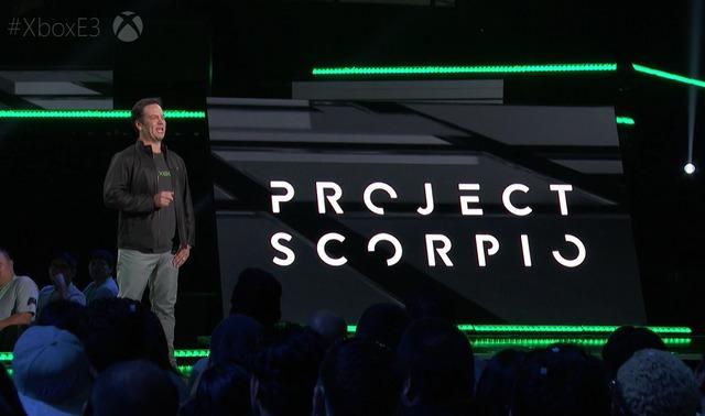 Annonce du projet Scorpio à l'E3 2016