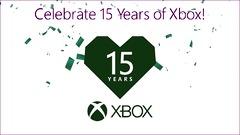 La Xbox célèbre son 15ème anniversaire