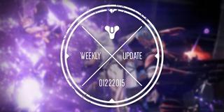 Nouvelle de la semaine de Bungie - 27 minutes plus tard
