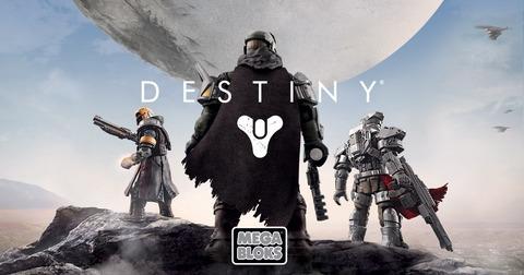 Destiny - Destiny reçoit sa propre gamme Mega Bloks