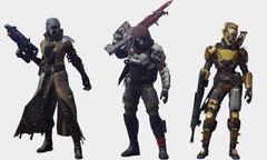 Une grande variété d'apparences dans Destiny
