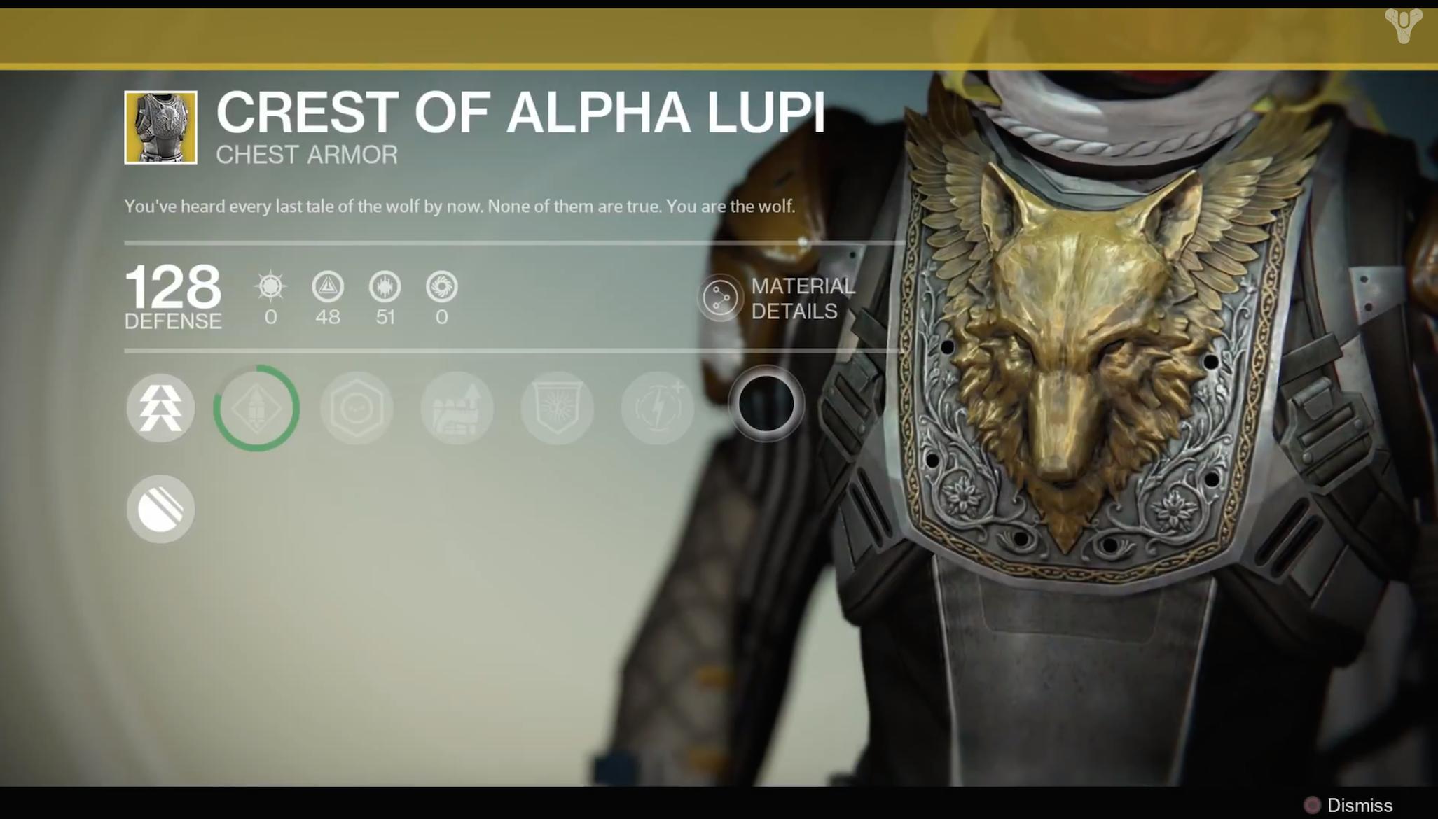 Crest Of Alpha Lupi Hunter