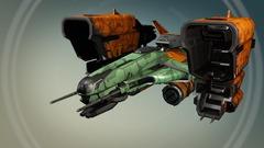 RipShipPardoner, l'un des nouveaux vaisseaux apportés par l'extension