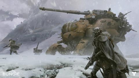 Destiny - Le MMO de Bungie se précise : trame de science-fiction, gameplay d'exploration