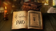Légendes de Fantasy War Online, le Background du jeu
