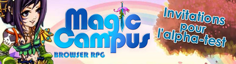 150 invitations supplémentaires pour l'alpha-test de Magic Campus