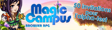 50 invitations à l'alpha-test de Magic Campus