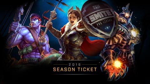 Smite - Jeux-concours : 100 Tickets de Saison 2016 et 500 skins SMITE à gagner