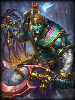 Osiris : skin Seigneur du Silence