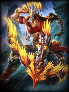 L'archer Hou Yi abat les astres sur Smite