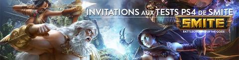 5000 invitations à l'alpha européenne de SMITE sur PlayStation 4