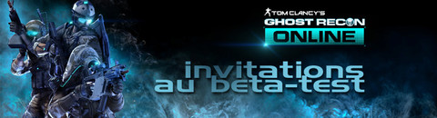 1000 invitations à la troisième phase de bêta-test de Ghost Recon Online