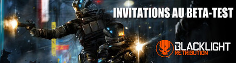 1000 invitations au bêta-test de Blacklight Retribution