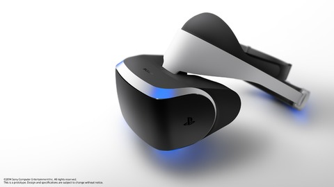 PlayStation VR - Le casque 3D de Sony (Project Morpheus) devient le PlayStation VR et esquisse son catalogue