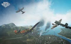 World of Warplanes illustre la puissance de feu de ses chasseurs lourds