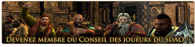 Une place à pourvoir au sein du Conseil des Joueurs du Seigneur des Anneaux Online