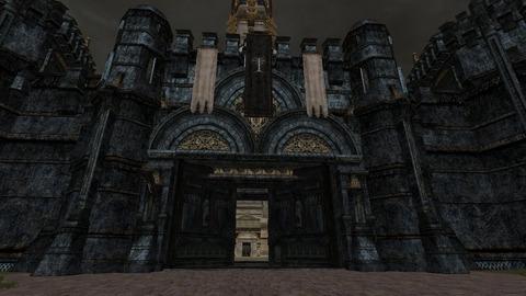 L'entrée de Minas Tirith