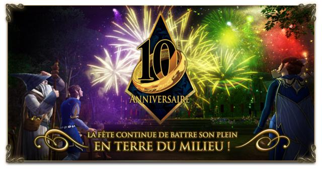 10 ème anniversaire Lotro