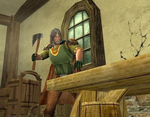 Le Seigneur des Anneaux Online - Le Menuisier