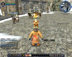 Interface au début du jeu