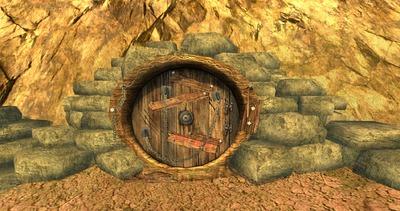 Que se cache derrière cette porte..?