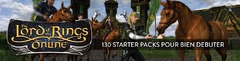 130 Starter Packs pour bien débuter dans Le Seigneur des Anneaux Online