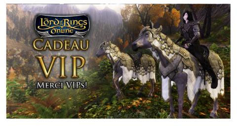 Le Seigneur des Anneaux Online - Le SdAo récompense ses VIP avec une monture exclusive