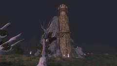 Géographie - Lieux -  La Tour de Guet ruinée ou dite du Fauconnier