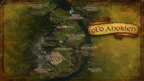 Carte Old Anorien