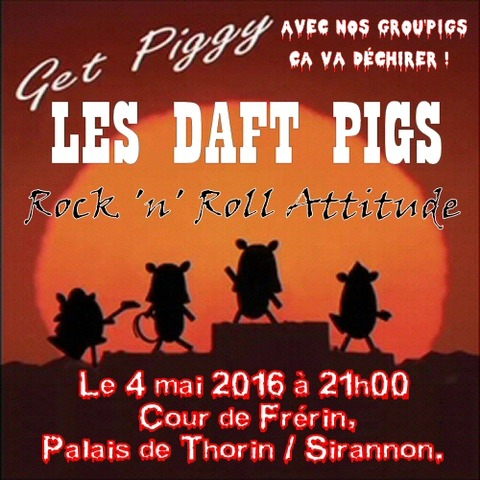 Les Daft Pigs en concert mercredi 4 mai dès 21h00