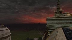 Vue de la Cité vers Osgiliath
