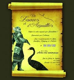 Défilé de Lames et d'aiguilles #4 le samedi 22 avril