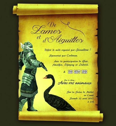 Le Seigneur des Anneaux Online - Défilé de Lames et d'aiguilles #4 le samedi 22 avril
