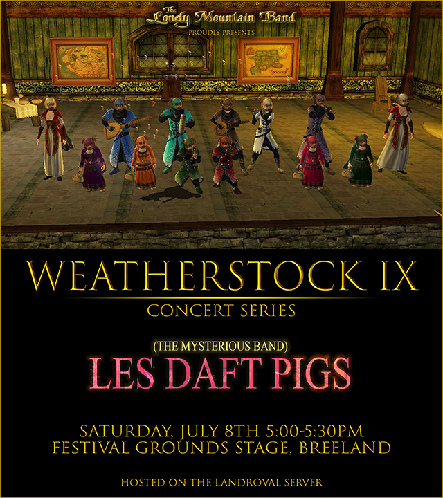 Weatherstock 2017 : les Daft Pigs