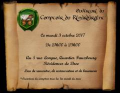 Soirée RP : Le Comptoir du Renardargent ouvre ses portes le 3 octobre