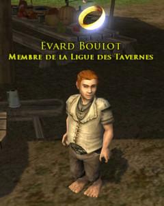 Evard Boulot, membre de la Ligue des Tavernes