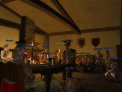 Première réunion à Bree