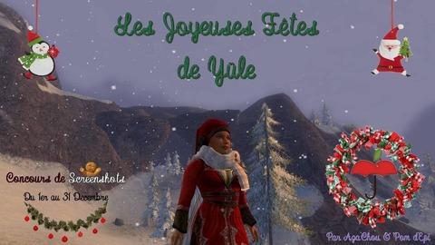 Le Seigneur des Anneaux Online - Concours de tenues de Yule par Aza'Chou & Pom d'Epi
