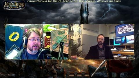 Le Seigneur des Anneaux Online - Chance Thomas est de retour!