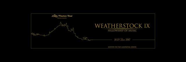 Weatherstock : le Festival musical de l'année arrive