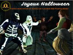 Célébrez Halloween et gagnez des points SdAO