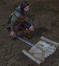 Aragorn et ses cartes