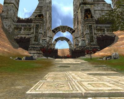 Porte  du sentier du roi